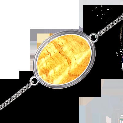 Bijou - Bracelet Mono en Amboine clair