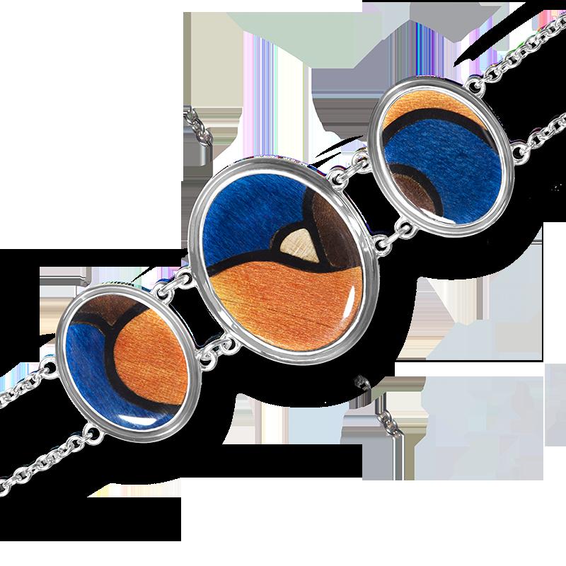 Bijou - Bracelet Tryptique